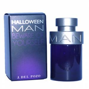 Mini Perfumes Hombre - Halloween Man Eau de Toilette - Beware Of Yourself de Jesús del Pozo 4,5ml.