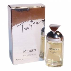 Mini Perfumes Mujer - Twice Eau de Toilette by Iceberg 4,5ml. (IDEAL COLECCIONISTAS) (Últimas Unidades)