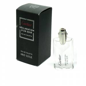 -Mini Perfumes Hombre - Déclaration d Un Soir Eau de Toilette by Cartier 4ml. (Últimas Unidades)