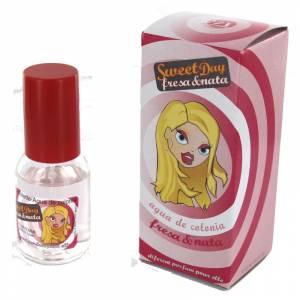 -Mini Perfumes Mujer - Fragancia dulce Sweet Day Eau de toilette - Fresa y Nata 20ml. (áltimas Unidades)